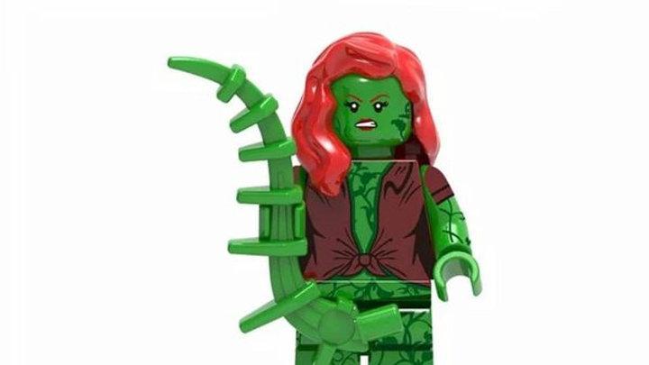 Poison Ivy Lego Figure