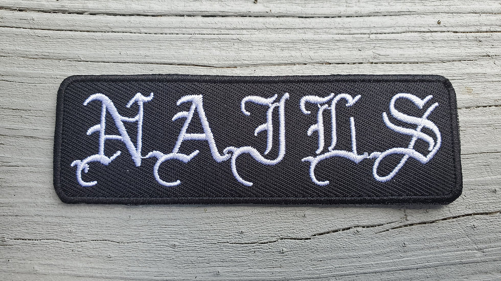 Nails Iron On Patch