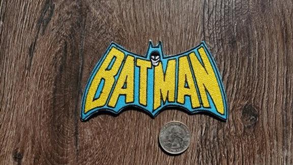 Batman Iron-On Patch