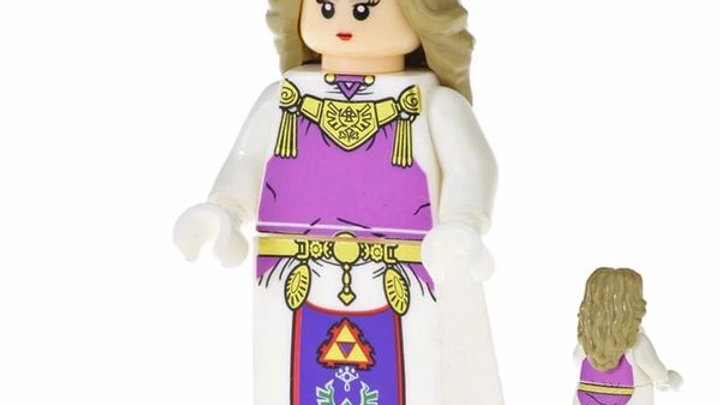 Zelda | Legend of Zelda Lego Figure