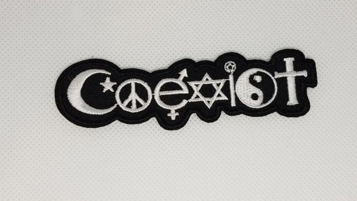 Coexist Iron On Patch