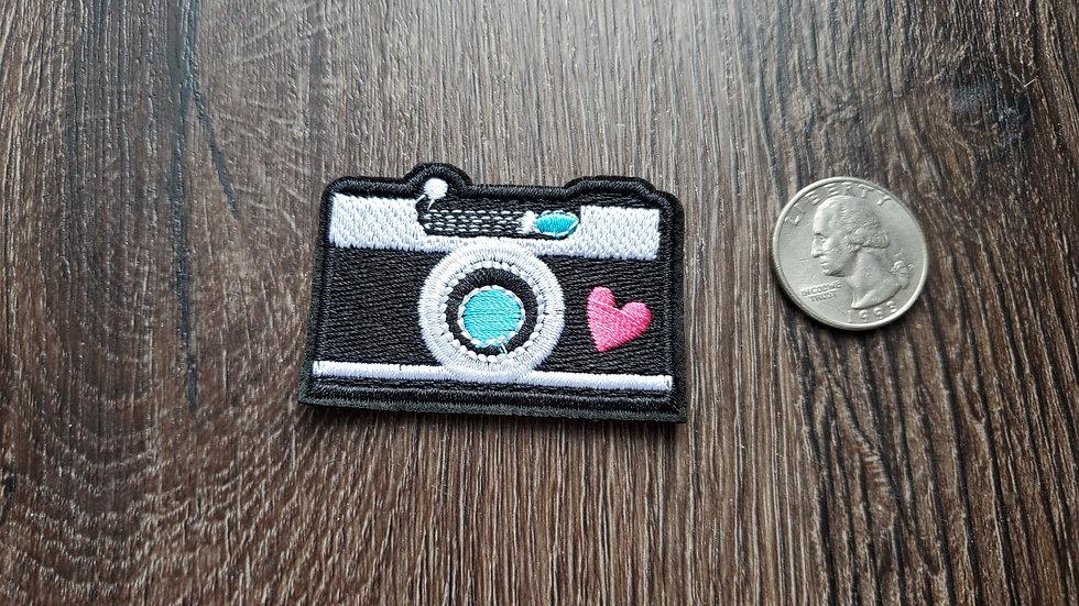Camera Iron On Patch