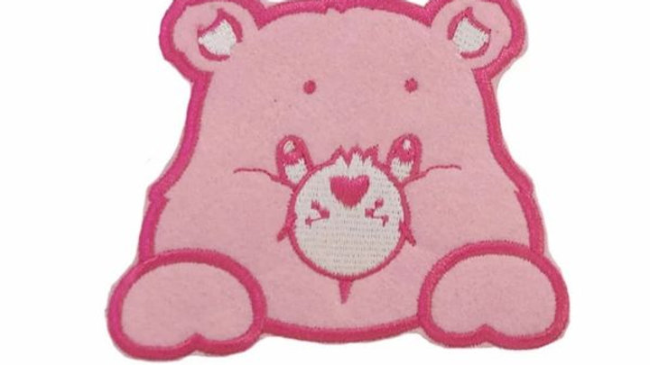 Pink Care Bear | Iron On Patch