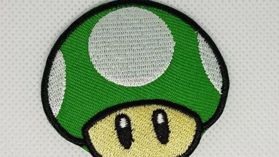 1 Up Mushroom | Mario Iron On Patch