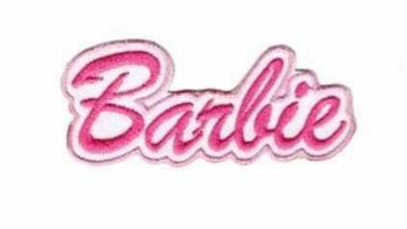 Barbie Iron On Patch