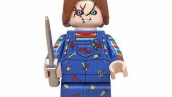 Chucky Lego Figure
