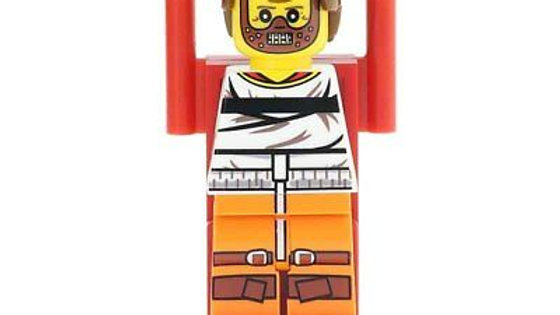 Hannibal Lecter Lego Figure