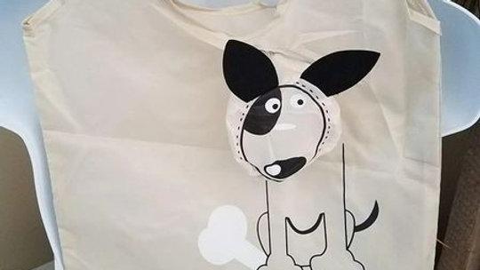Puppy Dog Reusable Tote Bag