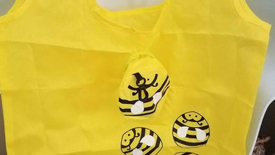 Bumble Bee Reusable Tote Bag