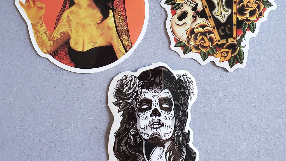 Bad Babe Stickers