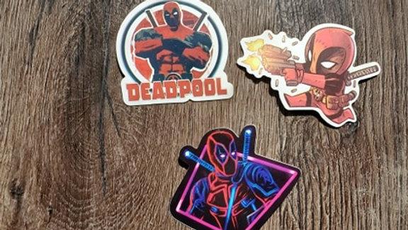 Deadpool Stickers