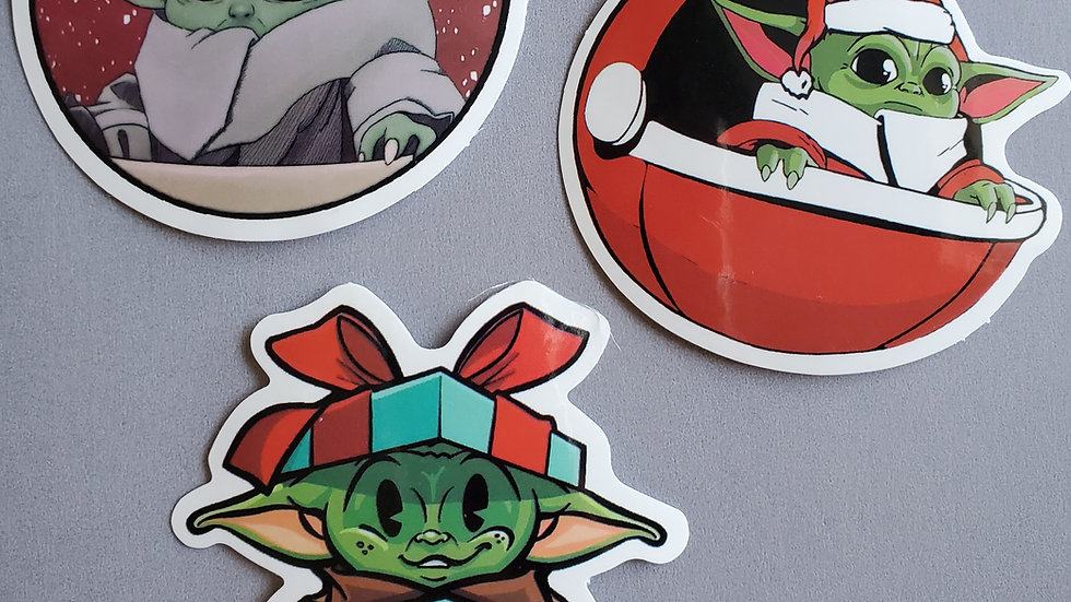 Baby Yoda | Star Wars | Mandalorian Stickers
