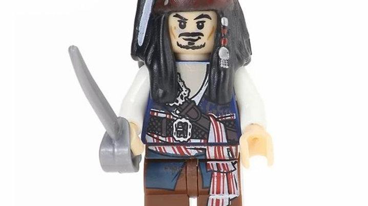 Jack Sparrow Lego Figure