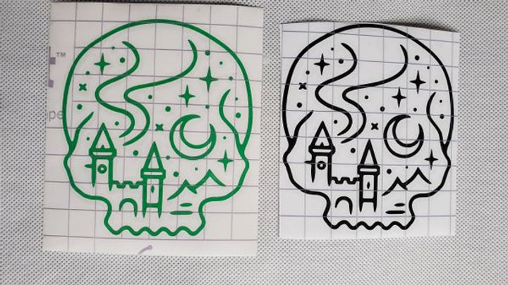 Magical Skull Decal