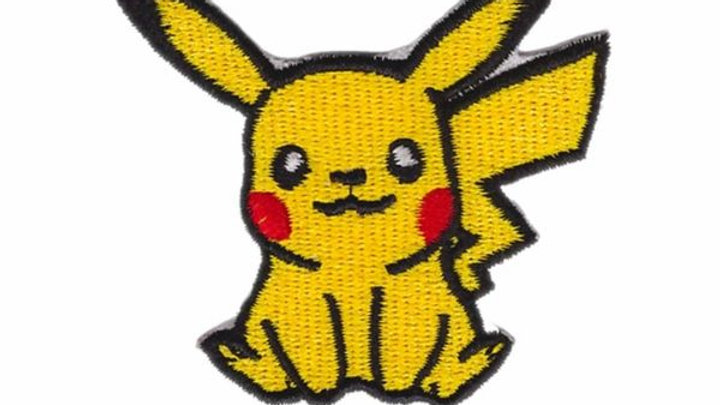 Pikachu   Pokemon Iron On Patch