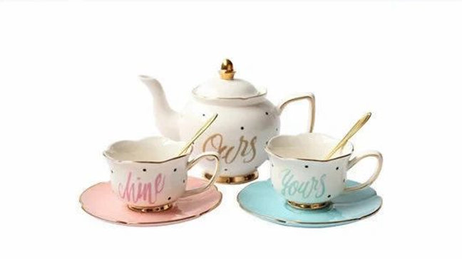 Yours | Mine | Ours Full Size Tea Set