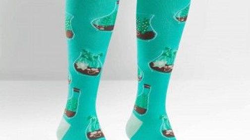 Terrariums | Knee High Socks