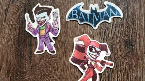 Joker | Harley Quinn | Batman Stickers