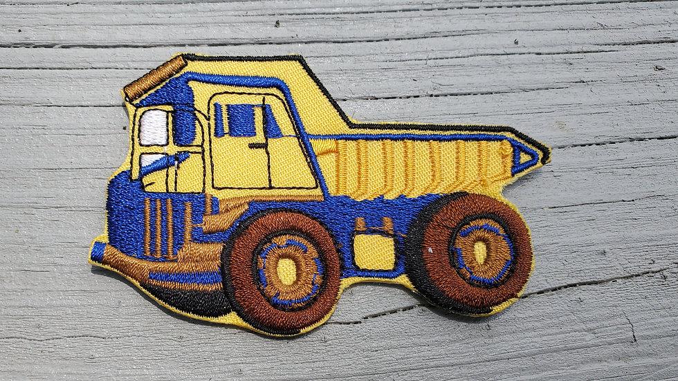 Dump Truck | Construction Iron On Patch