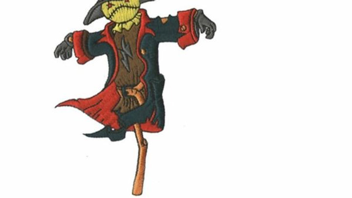 Scarecrow   Iron On Patch