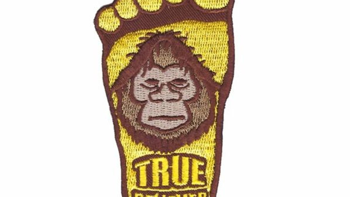 Big Foot Iron On Patch