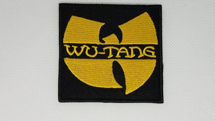 Wu Tang Iron On Patch