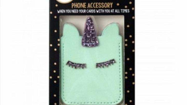 Cellphone Card Holder -Unicorn