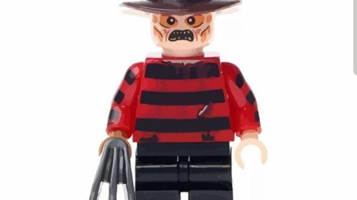 Freddy Krueger Lego Figure