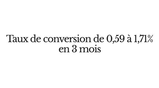 Audit et plan d'optimisation des conversions