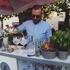 Sommer Outdoor Gin Bar