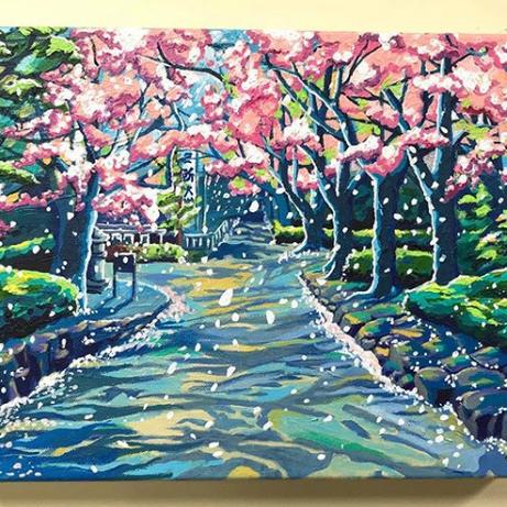 """""""Cherry Blossoms at Shiba Park, Tokyo"""""""