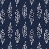 """""""Fine Feathers"""" (Navy)"""