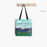 """Wild & Free"" Tote Bag"