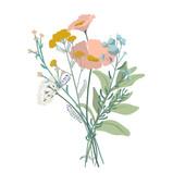 Pastel Bouquet Design