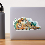 """Tigers"" Sticker"