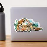 """""""Tigers"""" Sticker"""