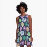 """""""Succulent Garden"""" Dress"""