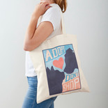"""Adopt Don't Shop"" Tote"