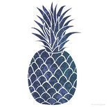 Preppy Pineapple Design