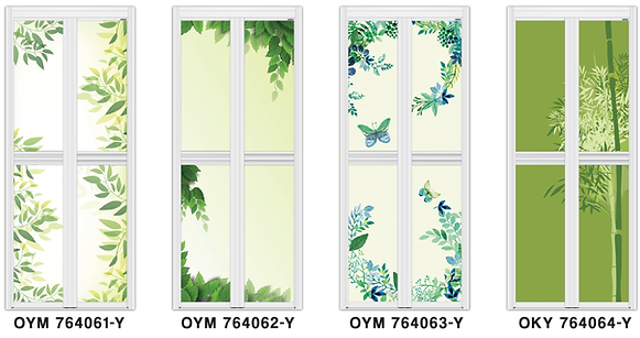 green leaf bifold door design singapore 2017