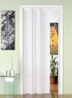 White folding door in sinapore storeroom