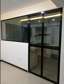 Bi fold kitchen doors simple marvelous kitchen extensions with black colour bifold door with glass panel for open concept kitchen in hdb flat with bi fold kitchen doors planetlyrics Choice Image