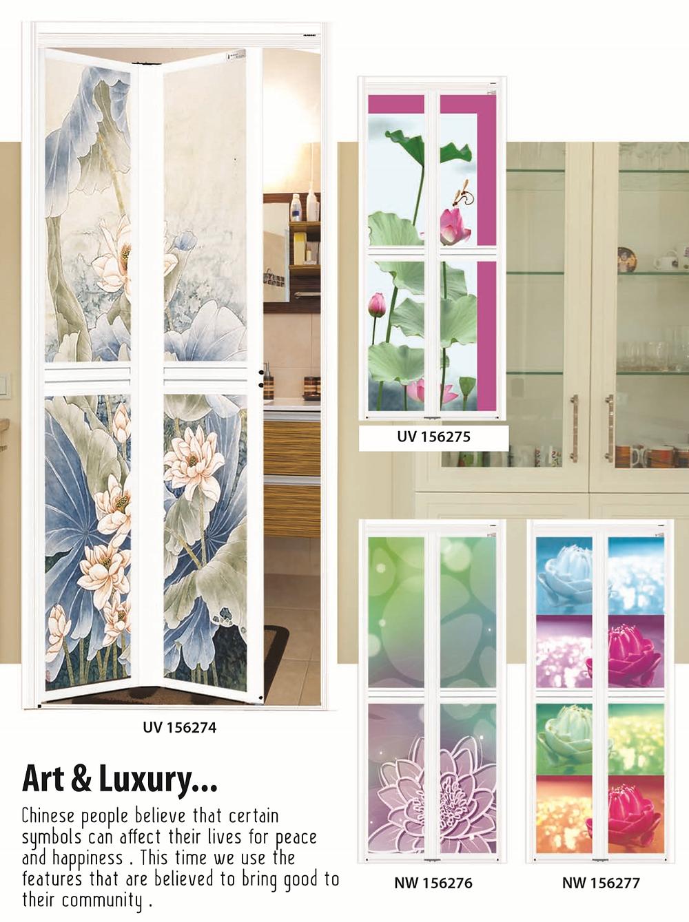 Toilet door in Singapore | Art & luxury
