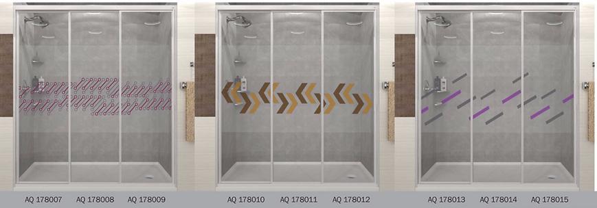 design panel aluminium shower screen Singapore modern desi