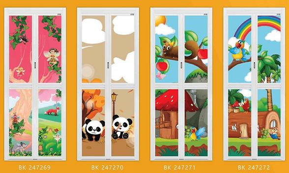 Premium Bifold Door Best Seller in 2020 Cute Carton Design