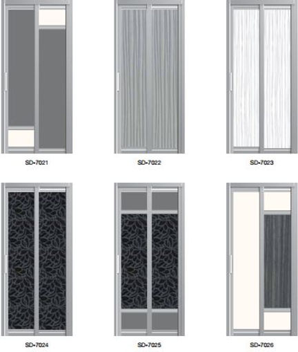 supreme door |slide and swing door design 3