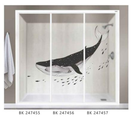 Aluminum Shower Screen With Premium Design Panel
