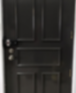 Singapoe wooden trimming fire rated door with Yale 4110 digital lock installed on it