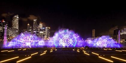 Spectra Light Show at Marina Bay Sands S