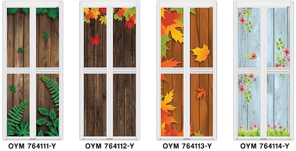 wooden grain premium bifold door singapore